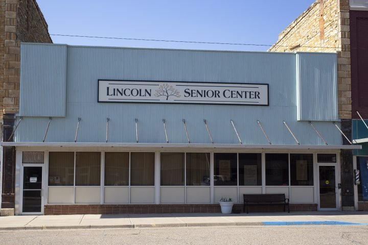 Lincoln Senior Center in Lincoln, Kansas