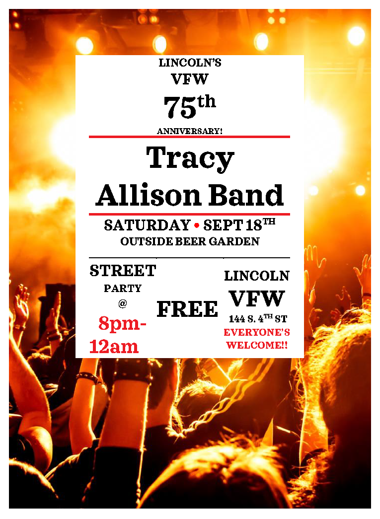 Lincoln VFW 75th Anniversary Street Party
