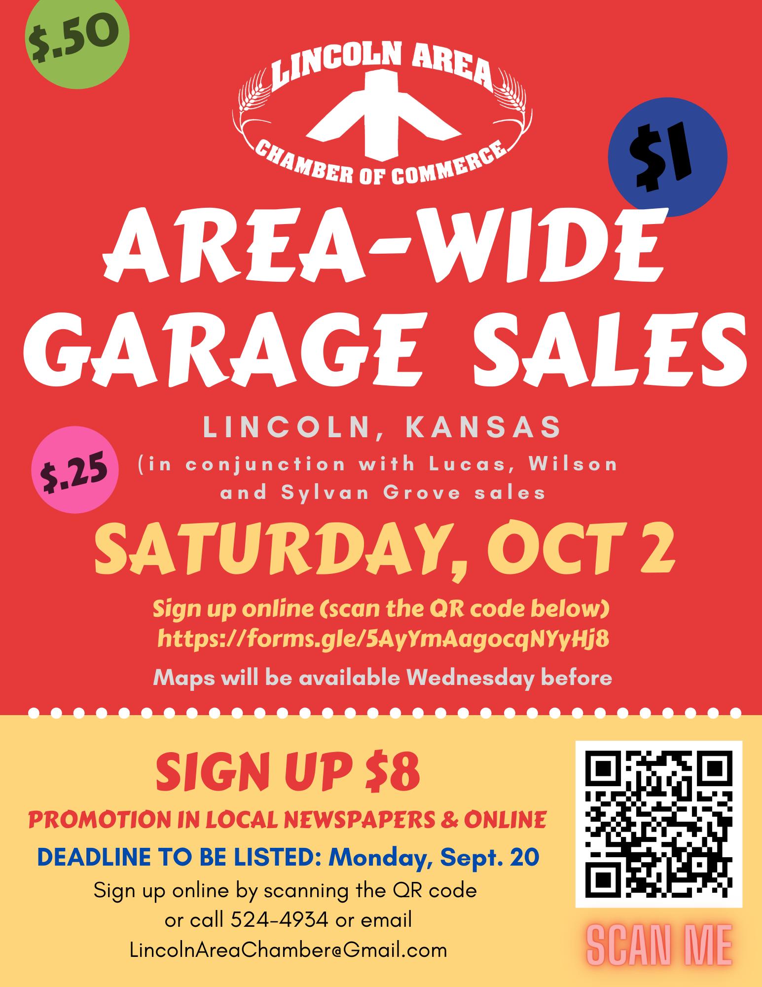 Fall Area-Wide Garage Sales