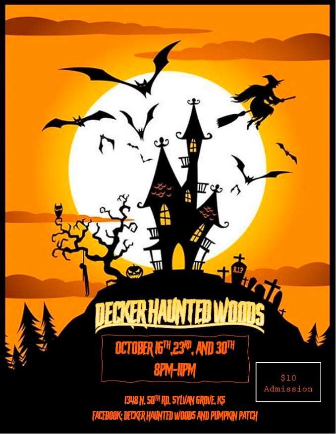Decker's Haunted Woods and Pumpkin Patch