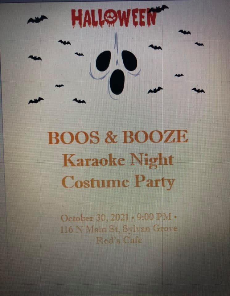 Halloween Boos & Booze Karaoke Night and Costume Party