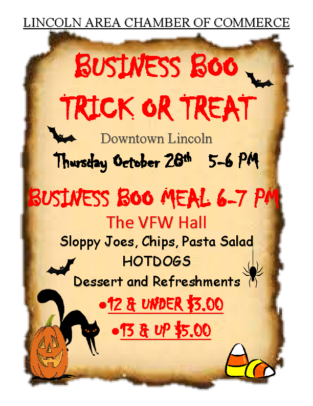 Business Boo Trick or Treat